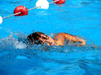 child-swimming